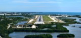 Short final to Key West Airport, Florida 623
