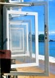 Windows at Cheeseburger in Paradise, Lahaina, Maui, Hawaii 184