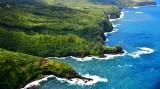 'O'opuola Point, Makaiwa Bay, Kapukaamaui Point, Waterfalls of Kailua Stream and Nailiihaele Stream, Papa'a'eanui Bay, Maui