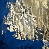 Afternoon light on Bedal Peak, Washington State 727