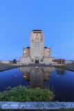 2N9B1749 Radio Kootwijk before sunrise