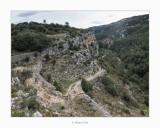 Camí de baixada cap als Estrets del Ballestar (Tinença de Benifassà)
