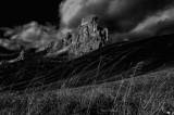 A World in Black and White ( The Dolomites- Italian Alps )