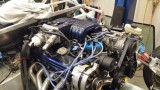 Engine with '88 Mustang EFI