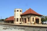 Ellis County - Waxahatchie -  Santa Fe  train station