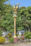Wat Sara Chatthan Phra Wihan Golden Swan Lamp Post (DTHCM1716)