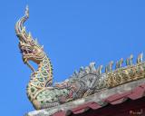 Wat Sara Chatthan Phra Wihan Makara and Naga Roof Finial (DTHCM1717)