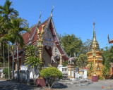 Wat Sara Chatthan Phra Ubosot and Phra That Chedi (DTHCM1721)