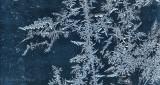 Frost On A Garage Window P1050347