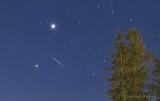 Jupiter & Venus Convergence & Meteor P1380171-7 (crop)