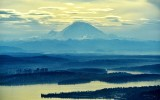Aerial Mount Rainier
