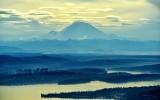 Standing Lenticular over Mount Rainier, Enumclaw valley, Lake Washington, Bellevue, Sandpoint, Seattle, Washington State 115
