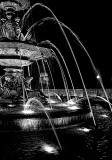Fountain BW