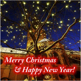 Merry Christmas, Happy New Year 2013, and many new, good photographs my friends!