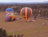 Hot Air Ballooning @ Sunrise over the Hunter Valley