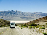 RV road to Panamint Valley