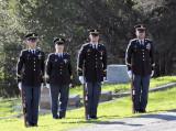 honor guard  rifles