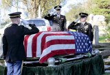 honor guard  saluting