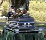 soldier graveside