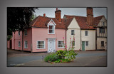 Houses at Bures Suffolk UK