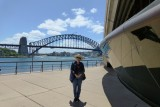 Walking around Sydney