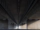 Under the Raymond E. Baldwin Bridge #3