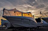Sunset at the marina. #2