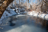 7937 My partially frozen river