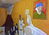 Mural, Fremont Vintage Mall, Seattle
