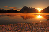 Vermillion Lakes Sunrise - December 2012