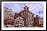 McGlothlin Street Hall in False Color Infrared