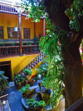 Courtyard of the Aliaga house
