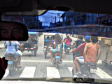 Bus ride through Iquitos