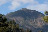 Cima del volcan vista a 5 Km de distancia
