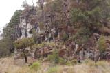 Roca tipica en las faldas del volcan