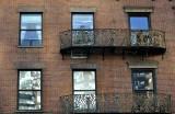 Windows With Fancy Balconies