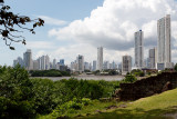 Panama City - view from the ruins of Panama's first settle