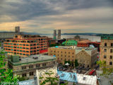 Quebec City. View on St. Lawrence River