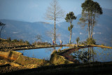 Yii ethnic minority farmers at MaLiZhai