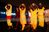 Devotees carry milk pots walk to Batu Caves