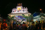 Sri Thandayuthapani Temple (Chettiar Temple) along Ipoh Road in Sentul, Kuala Lumpur