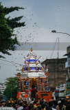 The procession to Batu Caves