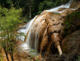 Elephant Trunk Pond, Zhaga Waterfall (Aug 06)