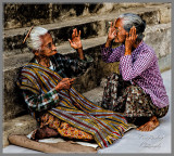 Sisters in Bagan