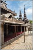 Wood Temple - Bagan