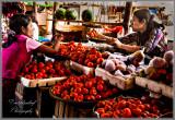 Fruit Seller in Bagan