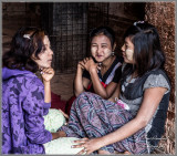 Happy Burmese Girls