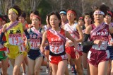National High School Ekiden race rally at Kyoto