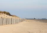 Near the sand dunes