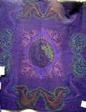 Purple Wholecloth